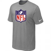 Wholesale Cheap NFL Sideline Legend Authentic Logo Dri-FIT Nike NFL T-Shirt Light Grey