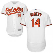 Wholesale Cheap Orioles #14 Craig Gentry White Flexbase Authentic Collection Stitched MLB Jersey