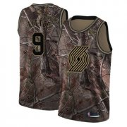Wholesale Cheap Blazers #9 Nassir Little Camo Basketball Swingman Realtree Collection Jersey