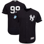 Wholesale Cheap Yankees #99 Aaron Judge Navy 2019 Spring Training Flex Base Stitched MLB Jersey