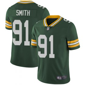 Wholesale Cheap Nike Packers #91 Preston Smith Green Team Color Men\'s Stitched NFL Vapor Untouchable Limited Jersey