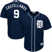 Wholesale Cheap Tigers #9 Nick Castellanos Navy Blue Cool Base Stitched Youth MLB Jersey