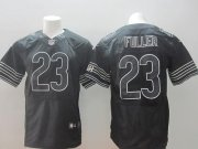 Wholesale Cheap Nike Bears #23 Kyle Fuller Black Shadow Men's Stitched NFL Elite Jersey
