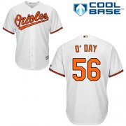 Wholesale Cheap Orioles #56 Darren O'Day White Cool Base Stitched Youth MLB Jersey