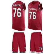 Wholesale Cheap Nike Cardinals #76 Marcus Gilbert Red Team Color Men's Stitched NFL Limited Tank Top Suit Jersey