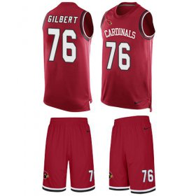 Wholesale Cheap Nike Cardinals #76 Marcus Gilbert Red Team Color Men\'s Stitched NFL Limited Tank Top Suit Jersey