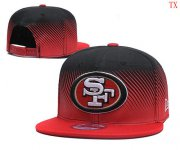 Wholesale Cheap San Francisco 49ers TX Hat 2