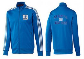 Wholesale Cheap NFL New York Giants Heart Jacket Blue