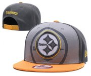 Wholesale Cheap NFL Pittsburgh Steelers Stitched Snapback Hats 139
