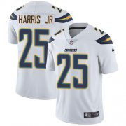 Wholesale Cheap Nike Chargers #25 Chris Harris Jr White Youth Stitched NFL Vapor Untouchable Limited Jersey