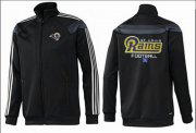 Wholesale Cheap NFL Los Angeles Rams Victory Jacket Black