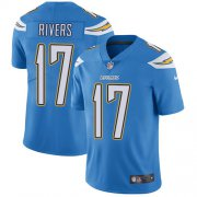 Wholesale Cheap Nike Chargers #17 Philip Rivers Electric Blue Alternate Men's Stitched NFL Vapor Untouchable Limited Jersey