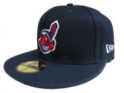 Wholesale Cheap Cleveland Indians fitted hats 05