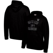 Wholesale Cheap Las Vegas Raiders Mitchell & Ness Team History Pullover Hoodie Black