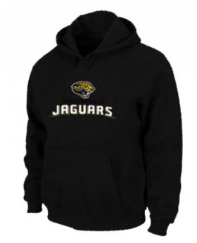 Wholesale Cheap Jacksonville Jaguars Authentic Logo Pullover Hoodie Black