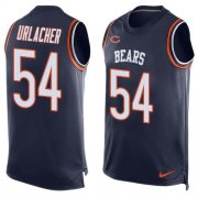 Wholesale Cheap Nike Bears #54 Brian Urlacher Navy Blue Team Color Men's Stitched NFL Limited Tank Top Jersey