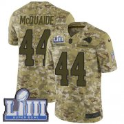 Wholesale Cheap Nike Rams #44 Jacob McQuaide Camo Super Bowl LIII Bound Youth Stitched NFL Limited 2018 Salute to Service Jersey