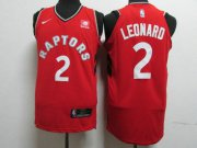 Wholesale Cheap Nike Toronto Raptors 2 Kawhi Leonard Red NBA Authentic Icon Edition Jersey