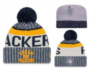 Wholesale Cheap NFL Green Bay Packers Logo Stitched Knit Beanies 016