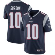 Wholesale Cheap Nike Patriots #10 Josh Gordon Navy Blue Team Color Men's Stitched NFL Vapor Untouchable Limited Jersey