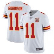 Wholesale Cheap Nike Chiefs #11 Demarcus Robinson White Youth Stitched NFL Vapor Untouchable Limited Jersey