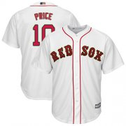 Wholesale Cheap Red Sox #10 David Price White Cool Base Stitched Youth MLB Jersey