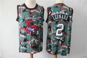 Wholesale Cheap Raptors 2 Kawhi Leonard Camo Swingman Jersey