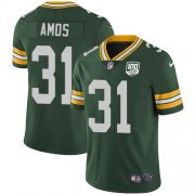Wholesale Cheap Nike Packers #31 Adrian Amos Green Team Color Youth 100th Season Stitched NFL Vapor Untouchable Limited Jersey
