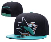 Wholesale Cheap NHL San Jose Sharks Stitched Snapback Hats 003