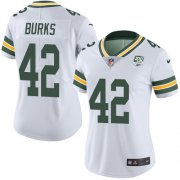 Wholesale Cheap Nike Packers #42 Oren Burks White Women's 100th Season Stitched NFL Vapor Untouchable Limited Jersey