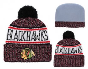 Wholesale Cheap NHL CHICAGO BLACKHAWKS Beanies 4