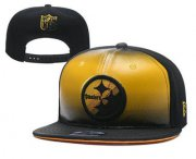 Wholesale Cheap Pittsburgh Steelers Snapback Ajustable Cap Hat YD 1