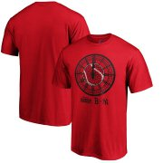 Wholesale Cheap Boston Red Sox vs. New York Yankees Majestic 2019 London Series Dueling Clock T-Shirt - Red