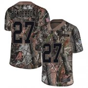 Wholesale Cheap Nike Rams #27 Darrell Henderson Camo Men's Stitched NFL Limited Rush Realtree Jersey