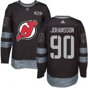 Wholesale Cheap Adidas Devils #90 Marcus Johansson Black 1917-2017 100th Anniversary Stitched NHL Jersey