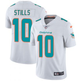 Wholesale Cheap Nike Dolphins #10 Kenny Stills White Youth Stitched NFL Vapor Untouchable Limited Jersey