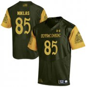 Wholesale Cheap Notre Dame Fighting Irish 85 Troy Niklas Olive Green College Football Jersey