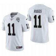Wholesale Cheap Las Vegas Raiders #11 Henry Ruggs Men's Nike 2020 Inaugural Season Vapor Limited NFL Jersey White