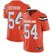 Wholesale Cheap Nike Browns #54 Olivier Vernon Orange Alternate Youth Stitched NFL Vapor Untouchable Limited Jersey
