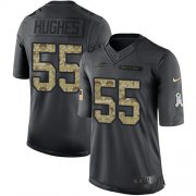 Wholesale Cheap Nike Bills #55 Jerry Hughes Black Men's Stitched NFL Limited 2016 Salute To Service Jersey