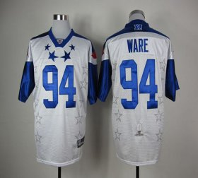 Wholesale Cheap Cowboys #94 DeMarcus Ware White 2012 Pro Bowl Stitched NFL Jersey