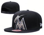 Wholesale Cheap Miami Marlins Snapback Ajustable Cap Hat GS 2