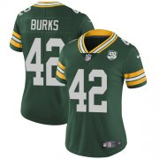 Wholesale Cheap Nike Packers #42 Oren Burks Green Team Color Women's 100th Season Stitched NFL Vapor Untouchable Limited Jersey