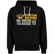 Wholesale Cheap Boston Bruins 2016 Winter Classics Crosstown Striker Pullover Sweatshirt Black