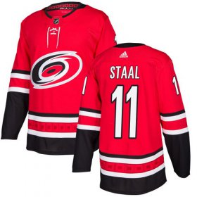 Wholesale Cheap Adidas Hurricanes #11 Jordan Staal Red Home Authentic Stitched Youth NHL Jersey