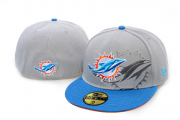Wholesale Cheap Miami Dolphins fitted hats 09