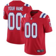 Wholesale Cheap Nike New England Patriots Customized Red Alternate Stitched Vapor Untouchable Limited Men's NFL Jersey