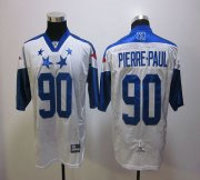 Wholesale Cheap Giants #90 Jason Pierre-Paul White 2012 Pro Bowl Stitched NFL Jersey