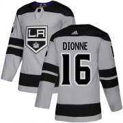 Wholesale Cheap Adidas Kings #16 Marcel Dionne Gray Alternate Authentic Stitched NHL Jersey