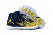 Wholesale Cheap Air Jordan 31 XXXI Shoes Blue/Yellow-White